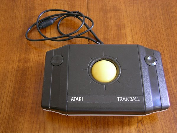 atari trackball as a TI-99 joystick, not perfect - TI-99/4A